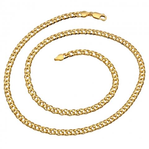 Łańcuszek 55 cm ze złota pr.585