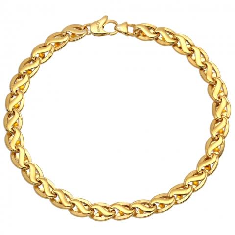 Bransoleta 19 cm ze złota pr.585