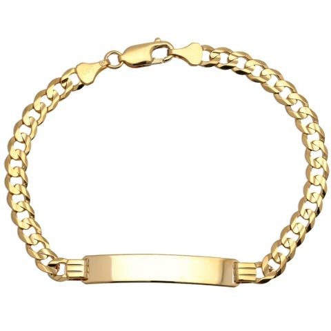 Bransoleta 21 cm ze złota pr.585