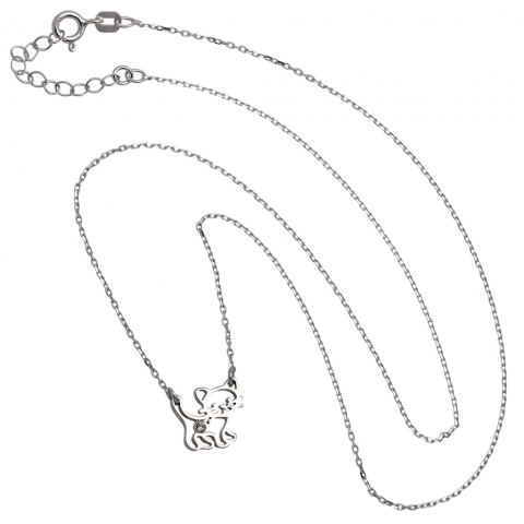 Kolia 38-41 cm ze srebra pr.925