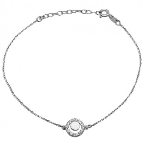 Bransoleta 17-20 cm ze srebra pr.925
