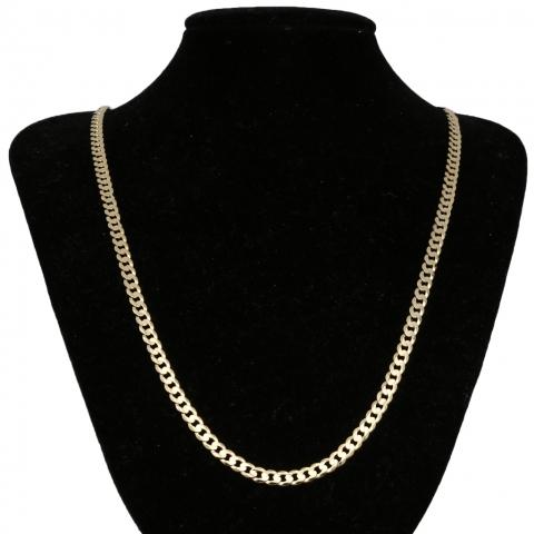 Łańcuch 55 cm ze złota pr.585