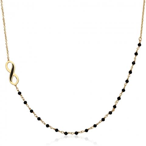 Kolia 41-44 cm ze złota pr.585