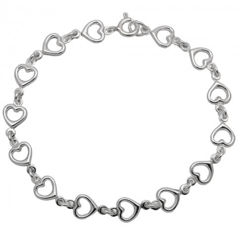Bransoleta 18 cm ze srebra pr.925