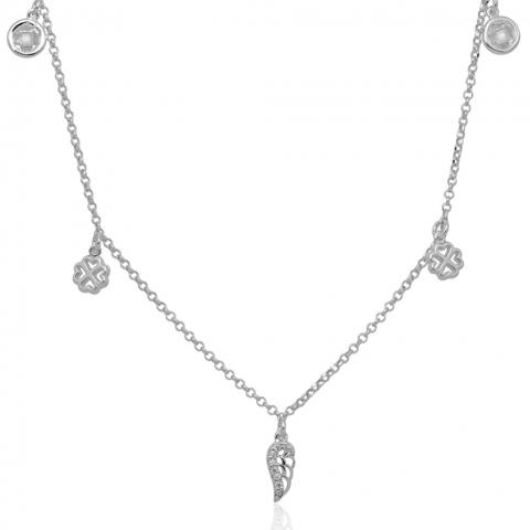 Kolia 43-46 cm ze srebra pr.925