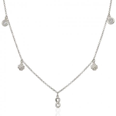 Kolia 42-45 cm ze srebra pr.925