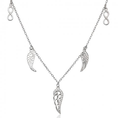 Kolia 40-45 cm ze srebra pr.925