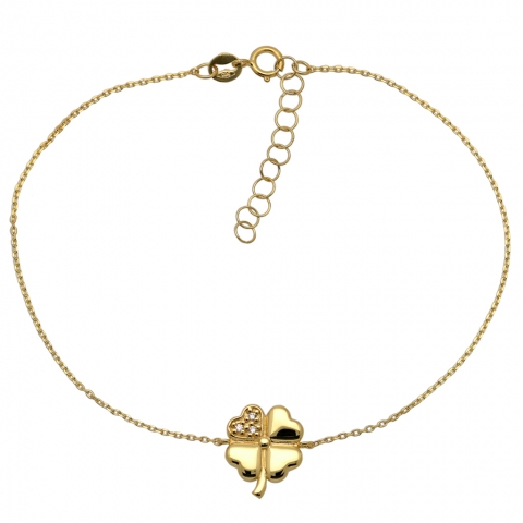 Bransoleta 18-21 cm ze złota pr.585