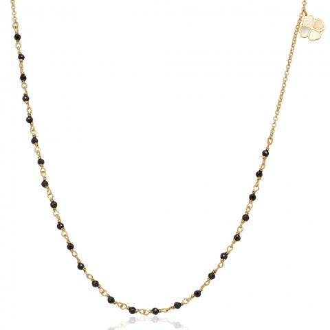 Kolia 43-46 cm ze złota pr.585