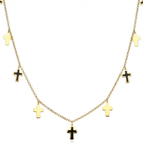 Kolia 42-45 cm ze złota pr.585