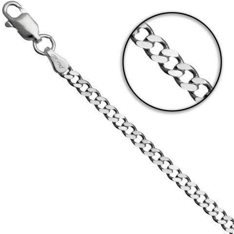 Łańcuch 60 cm ze srebra pr.925