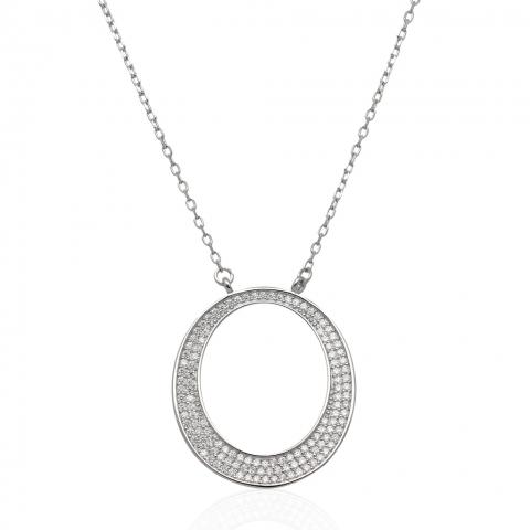 Kolia 45-50 cm ze srebra pr.925