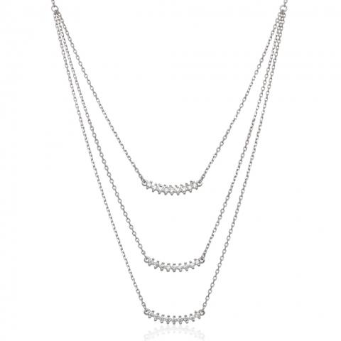 Kolia 39-44 cm ze srebra pr.925