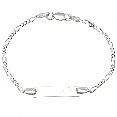 Bransoleta 17 cm ze srebra pr.925