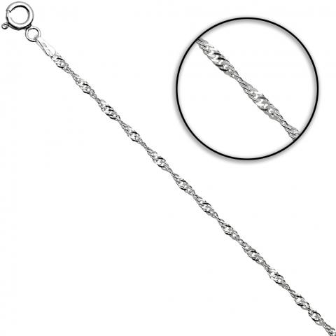 Łańcuch 55 cm ze srebra pr.925