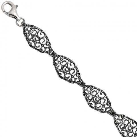 Bransoleta 18-22 cm ze srebra pr.925