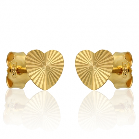 Kolczyki sztyft ze złota pr.585