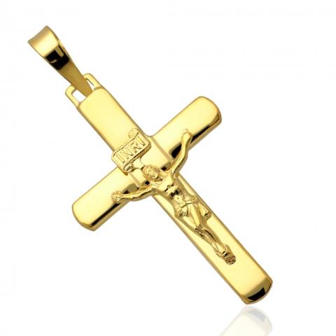 Krzyżyk ze złota pr.585