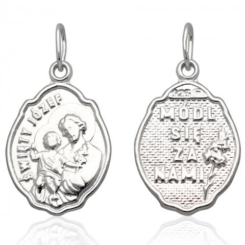 Medalik ze srebra pr.925