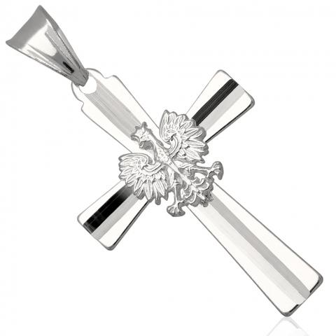 Krzyżyk ze srebra pr.925