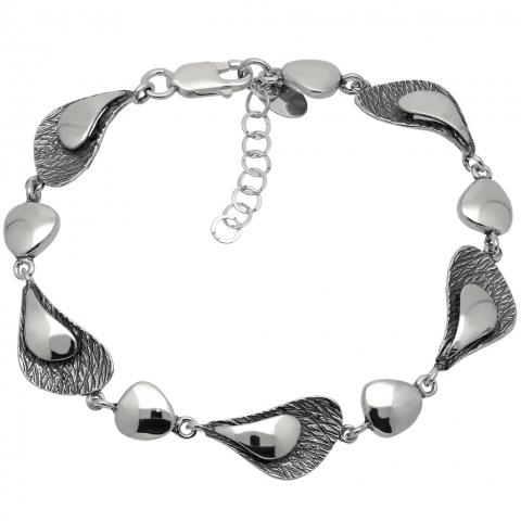 Bransoleta 18-21 cm ze srebra pr.925