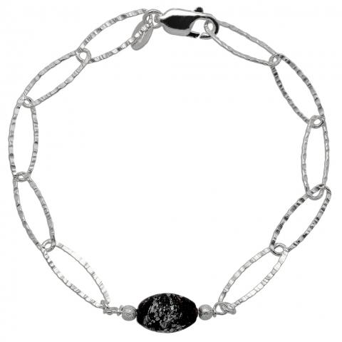 Bransoletka 20 cm ze srebra pr.925