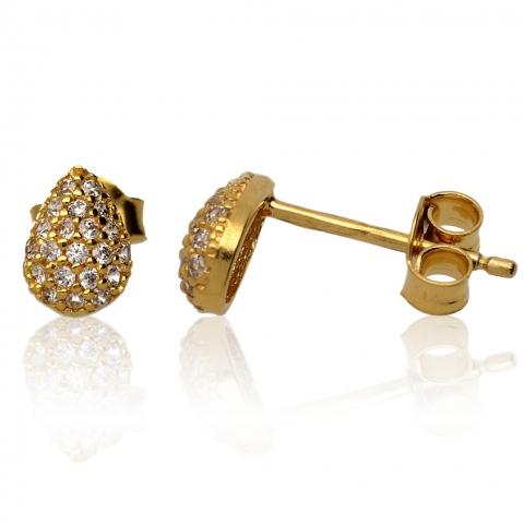 Kolczyki sztyft - Złoto pr.585