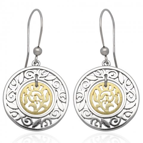 Kolczyki bigiel ze srebra pr.925